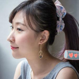 簡約多環不對襯耳環 | Simple Multi-ring Earrings【預購 Pre-Order】
