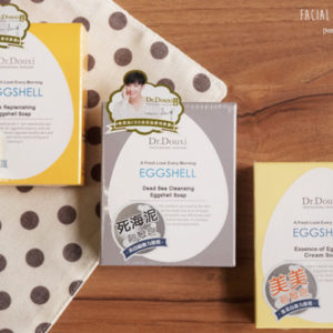 3入組合 – Dr.Douxi 朵璽卵殼皂 3 units Eggshell Soap 100g | 【預購 Pre-Order】