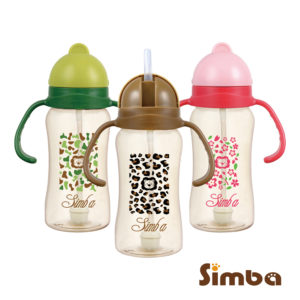 小獅王辛巴PPSU自動把手滑蓋杯 Simba PPSU Sippy Cup 240ml | 【現貨 Ready Stock】